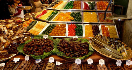 Boquerias market